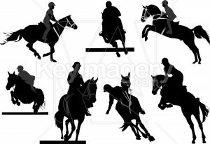 horse-riders-silhouettes-vector-illustration-stock-file-50495-700x700
